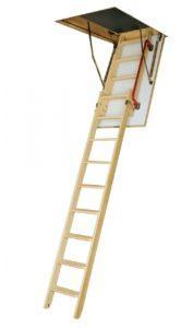 Раздвижная чердачная лестница с поручнем LDK (Fakro)